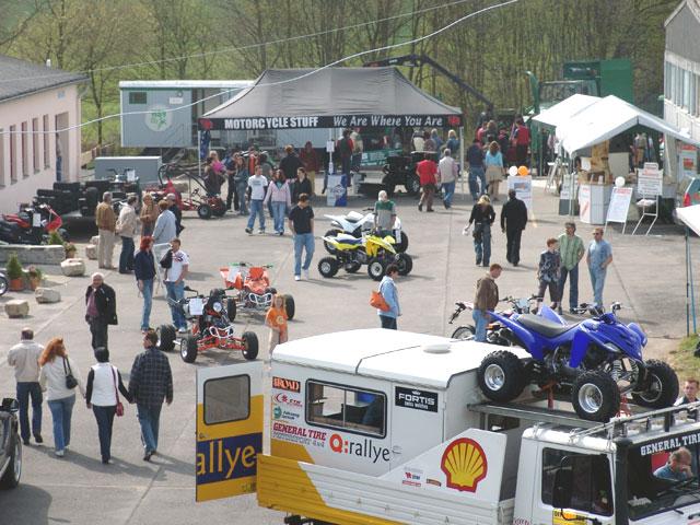 Zahlreiche Teilnehmer gab es bei der Gewerbeschau in Bad Sobernheim auf dem Gelände vom Quad-Europameister Mario Jochum