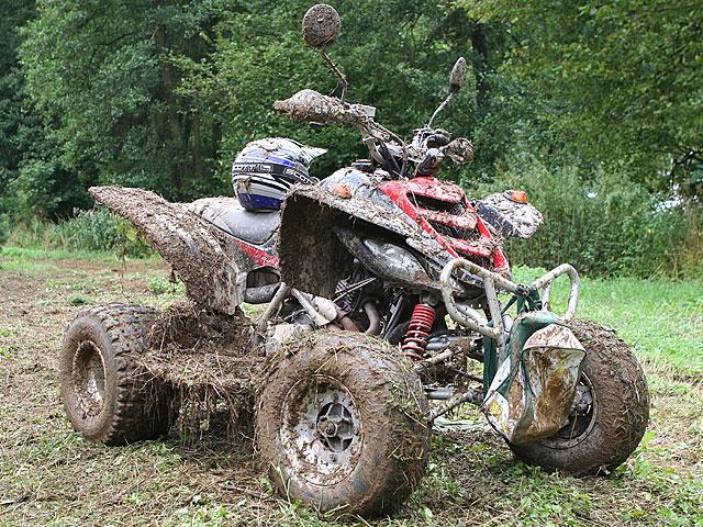 Mud-Race beim Quad-Treffen