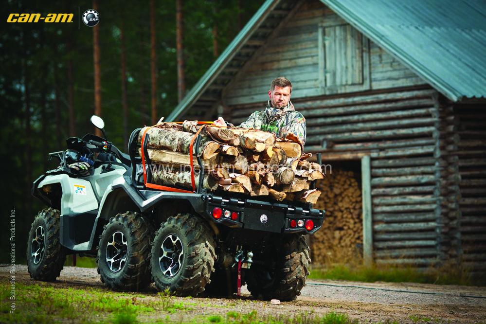 Can-Am Outlander 1000 6×6 XT