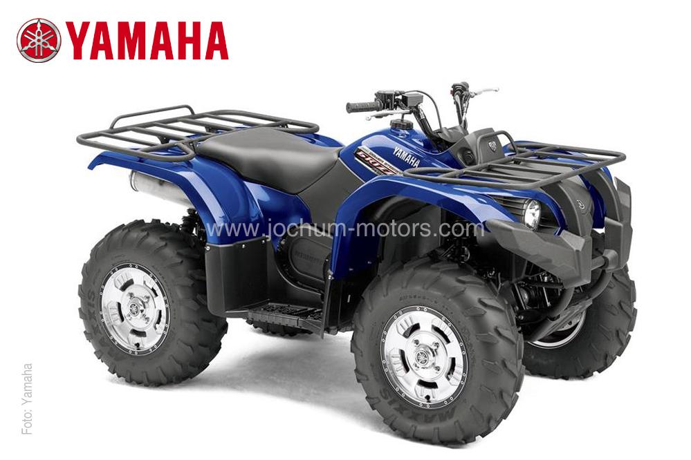 Drehmomentstarke 26 PS liefert das Yamaha Grizzly 450 EPS