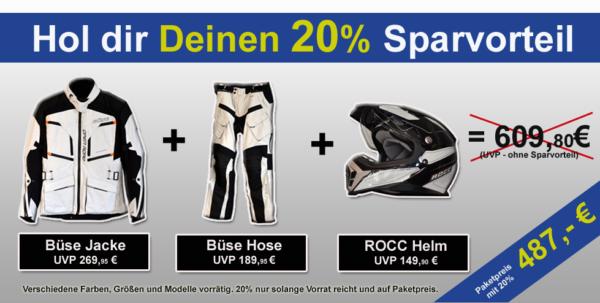 Paketpreis-Sparvorteil von 20% bei Jochum-Motors