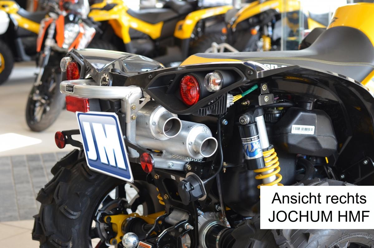 JOCHUM-HMF-Doppelrohr-Auspuffanlage