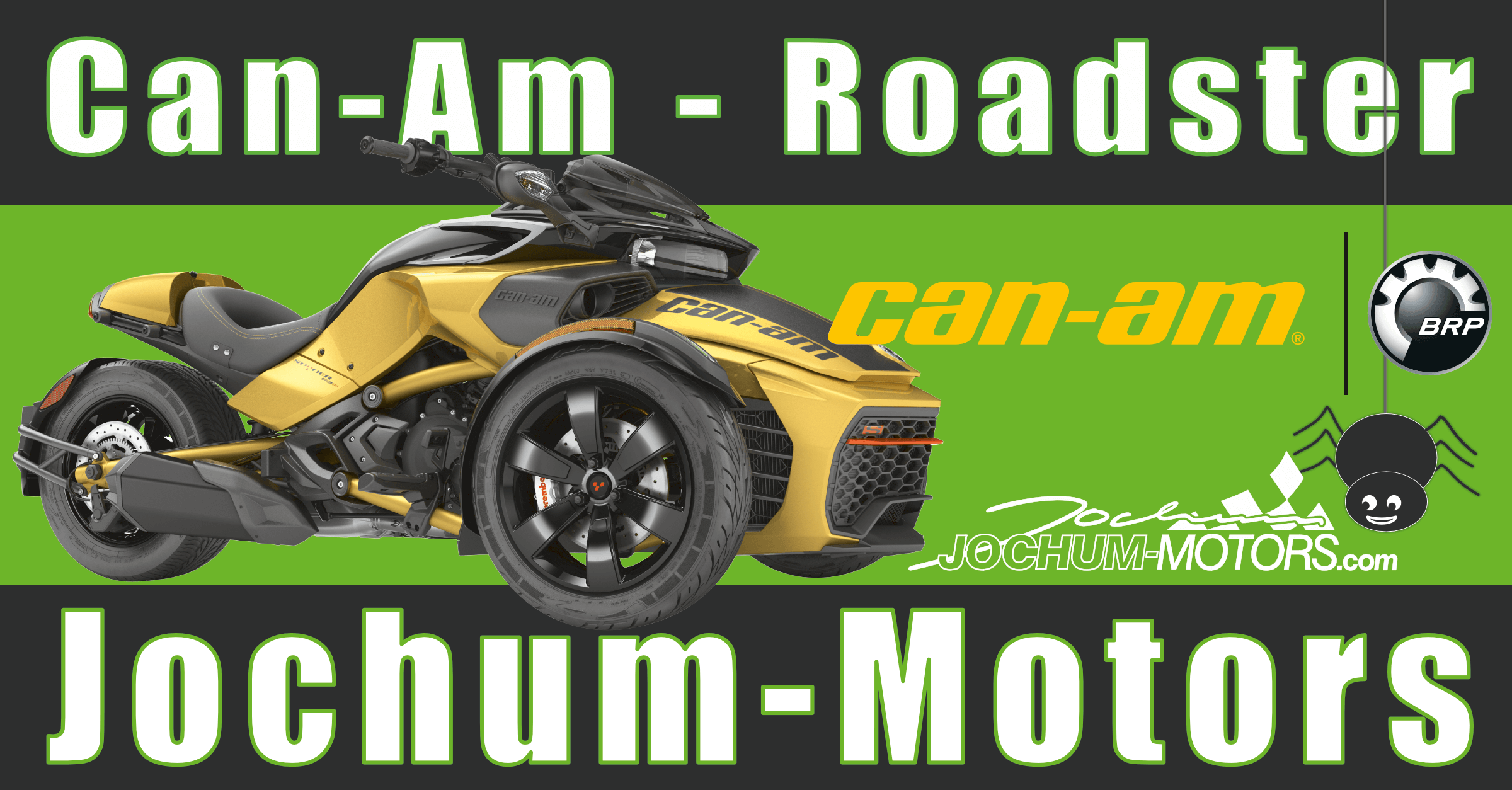 Can-Am Roadster - Spyder