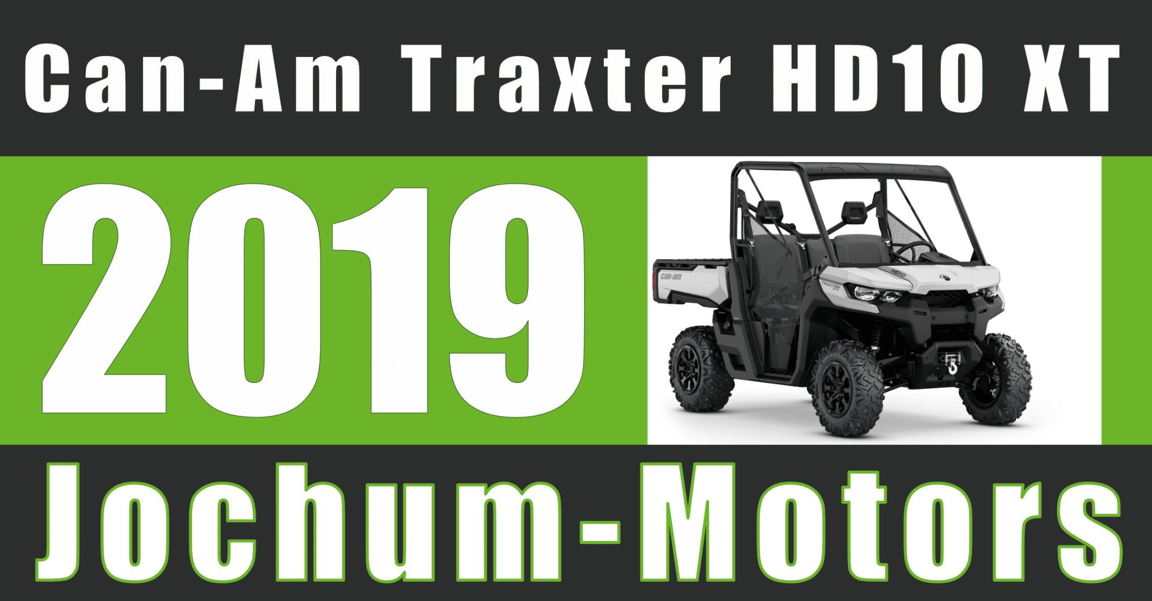 Can-Am Traxter HD10 XT