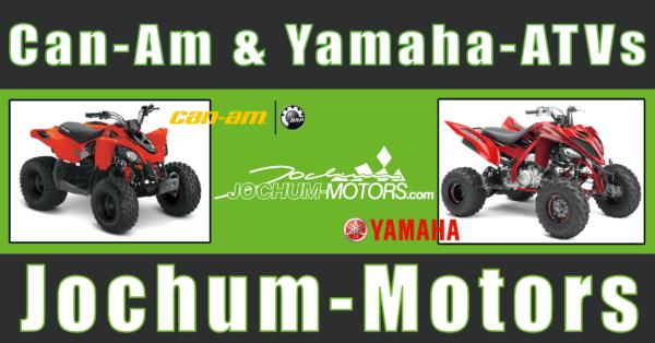 ATV von Yamaha und Can-Am