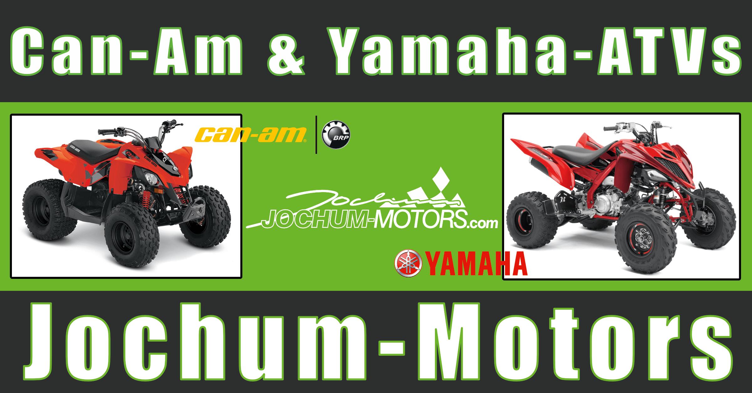 Can-Am und Yamaha ATVs