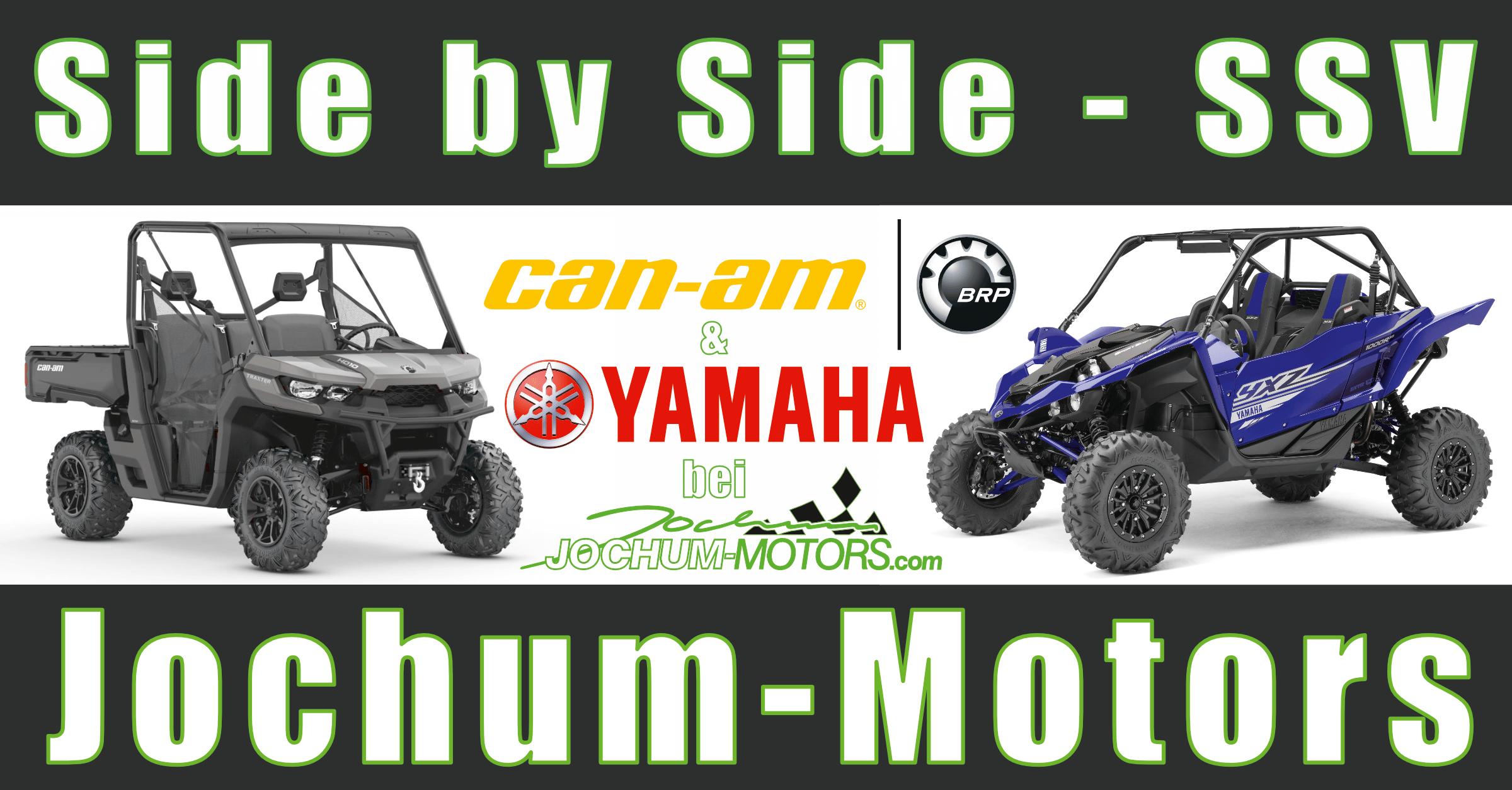 SSV (Side by Side) von Can-Am und Yamaha