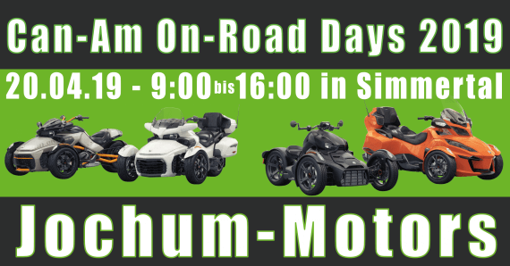 Can-Am On-Road Days 2019