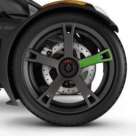 Can-Am Ryker - Felgenaufkleber - Supersonic Green