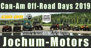 Can-Am Off-Road Days 2019 bei Jochum-Motors