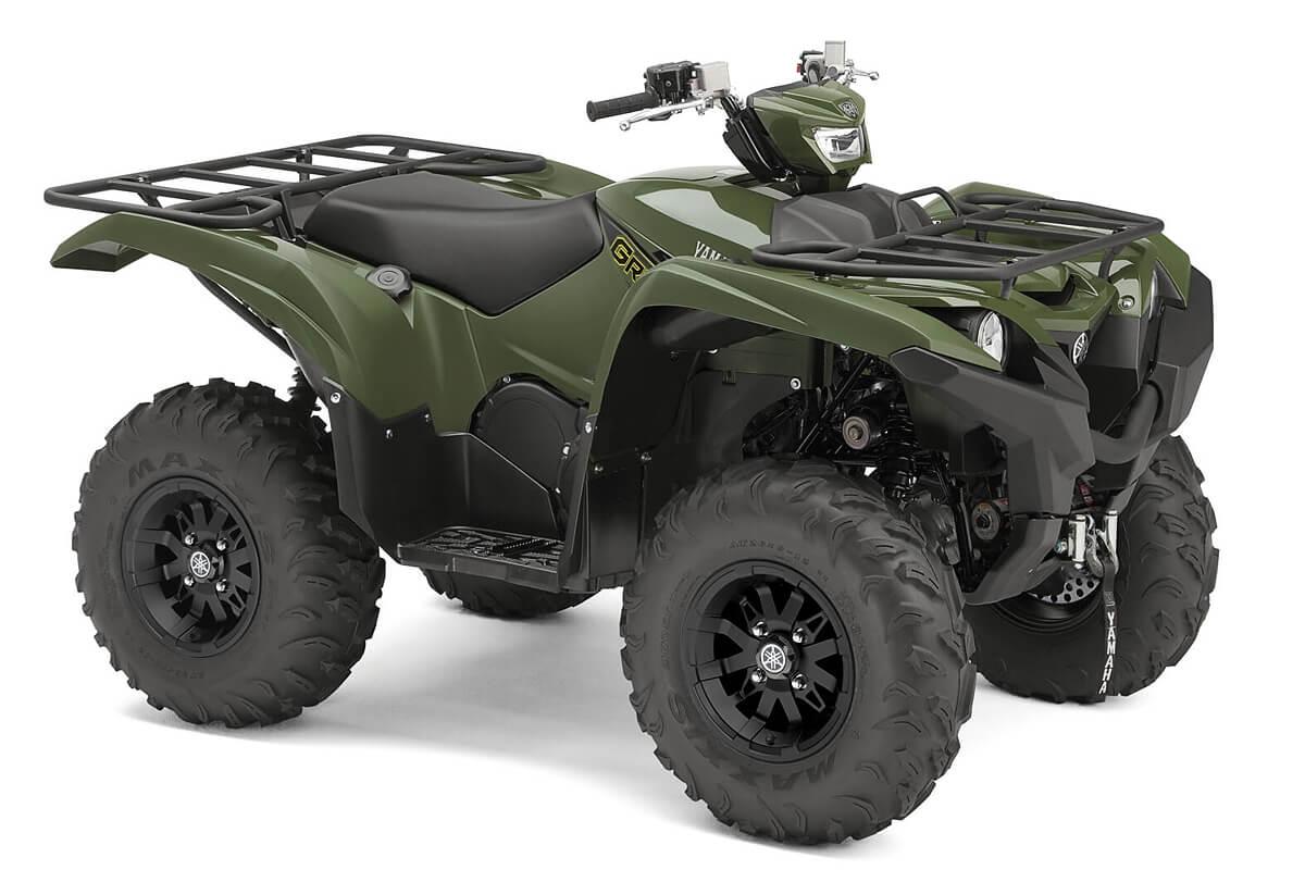 Grizzly 700 EPS Alu Räder ein ATV in Olive Green von Yamaha - Modelljahr 2020 - BDE700020M