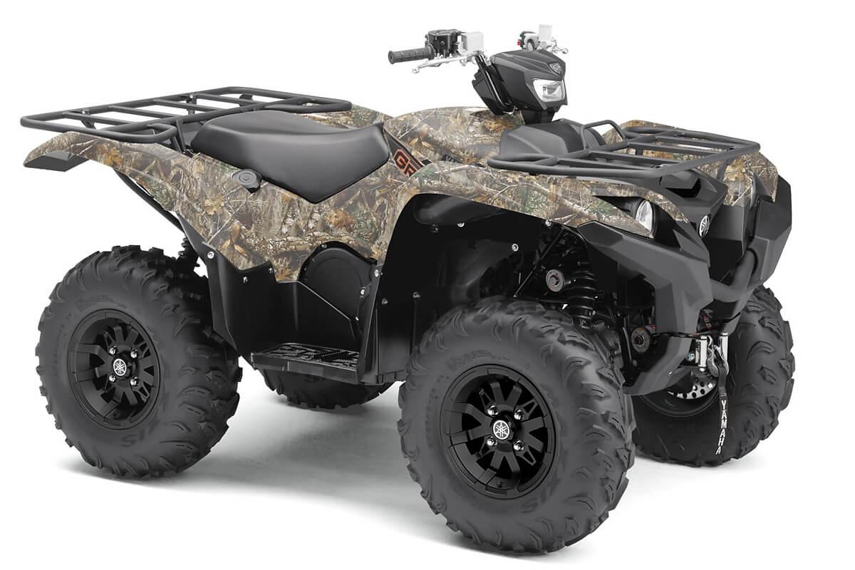 Grizzly 700 EPS Alu Räder ein ATV in Camouflage von Yamaha - Modelljahr 2020 - BDEA00020L