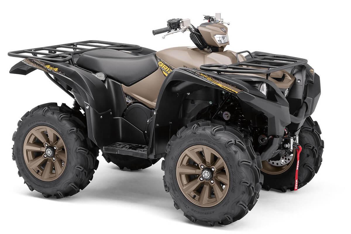Grizzly 700 EPS Special Edition ein ATV in Bronze von Yamaha - Modelljahr 2020 - BDEJ00020N