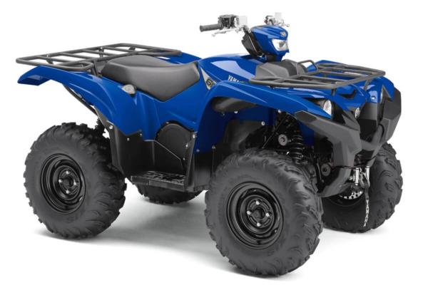 Grizzly 700 EPS ein ATV in Yamaha Blue von Yamaha - Modelljahr 2020 - BDE200020C