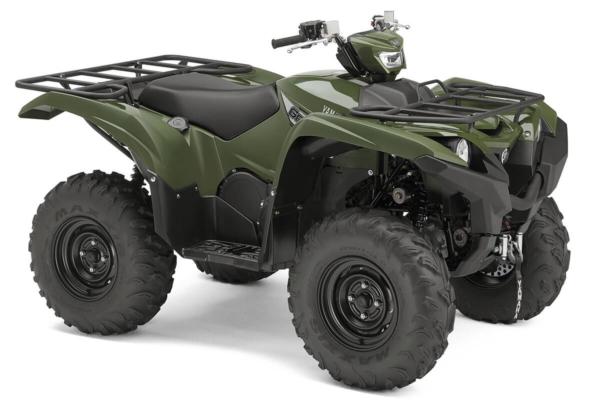 Grizzly 700 EPS ein ATV in Olive Green von Yamaha - Modelljahr 2020 - BDE200020M