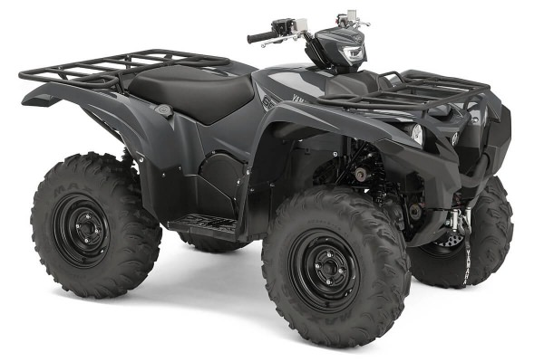 Grizzly 700 EPS ein ATV in Stormcloud Grey von Yamaha - Modelljahr 2020 - BDE200020R