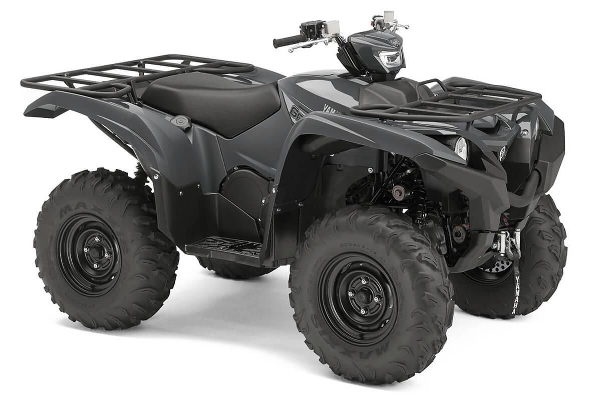 Grizzly 700 EPS ein ATV in Stormcloud Grey von Yamaha - Modelljahr 2020 - BDE200020R