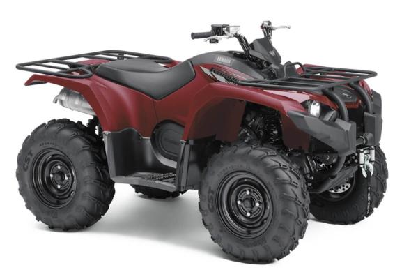 Kodiak 450 ein ATV in Ridge Red von Yamaha - Modelljahr 2020 - BJ5D00020T