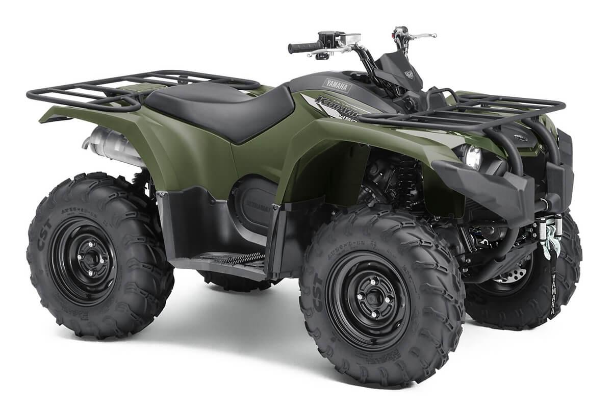 Kodiak 450 ein ATV in Olive Green von Yamaha - Modelljahr 2020 - BJ5D00020X