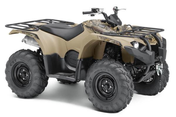 Kodiak 450 ein ATV in Camouflage von Yamaha - Modelljahr 2020 - BJ5E00020F