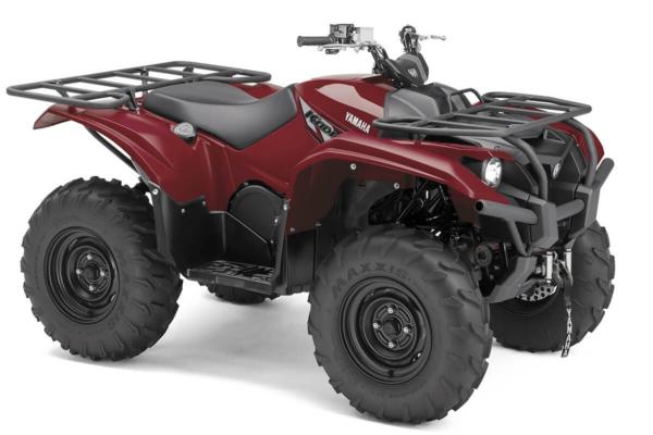 Kodiak 700 ein ATV in Ridge Red von Yamaha - Modelljahr 2020 - B6KA00020J