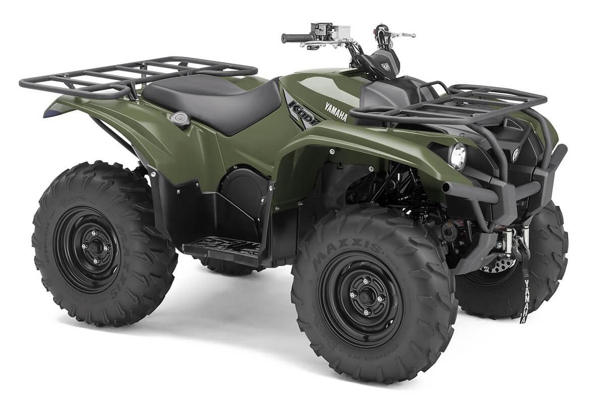 Kodiak 700 ein ATV in Olive Green von Yamaha - Modelljahr 2020 - B6KA00020M