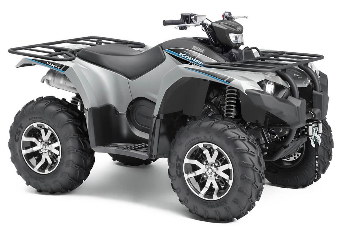 Kodiak 450 EPS Special Edition ein ATV in Silver Metallic von Yamaha - Modelljahr 2020 - B5R200020P
