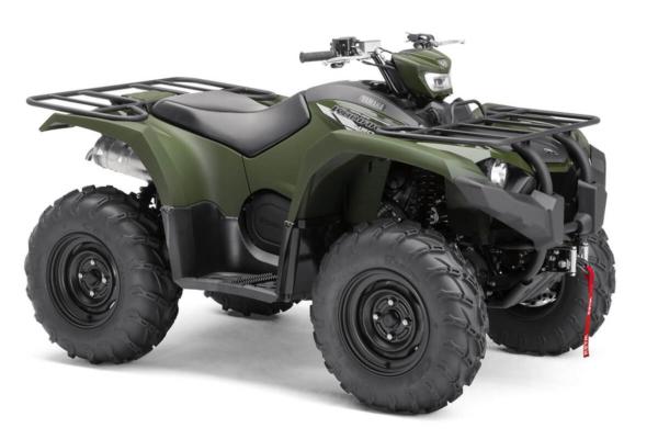 Kodiak 450 EPS ein ATV in Olive Green von Yamaha - Modelljahr 2020 - B5R100020X