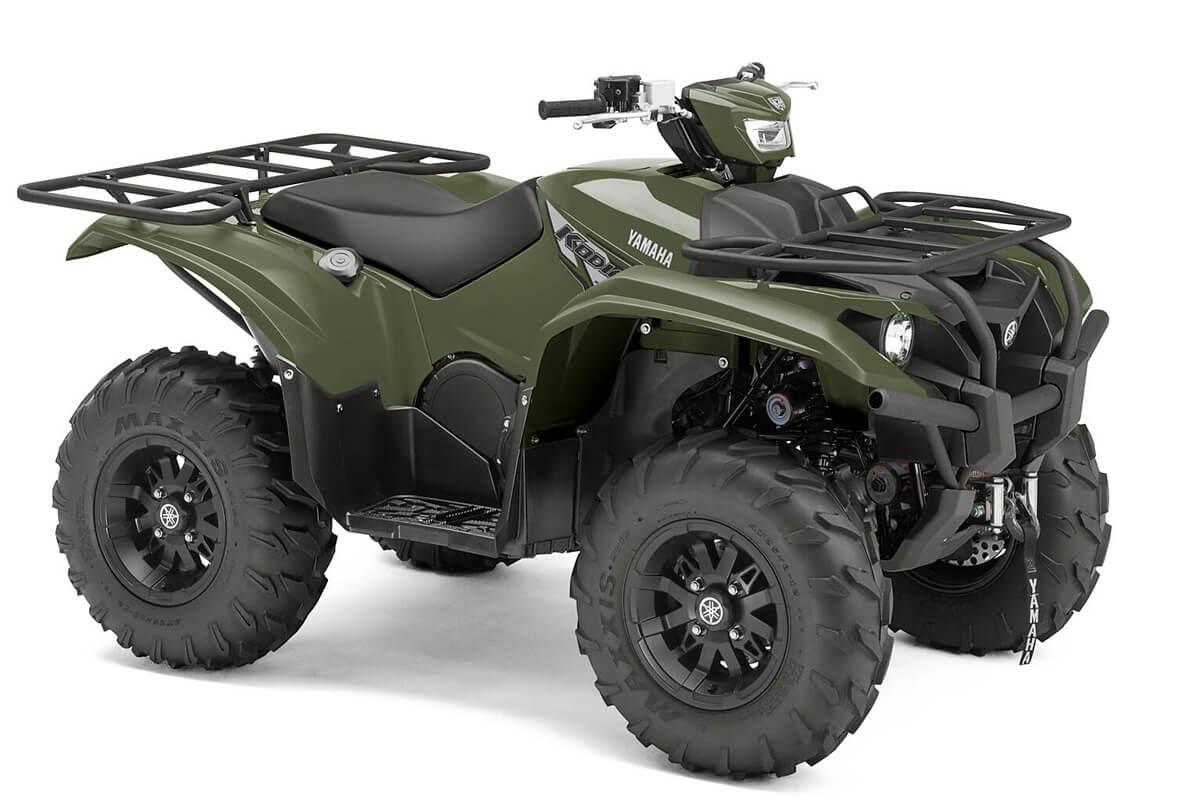 Kodiak 700 EPS Alu Räder ein ATV in Olive Green von Yamaha - Modelljahr 2020 - B5KN00020M