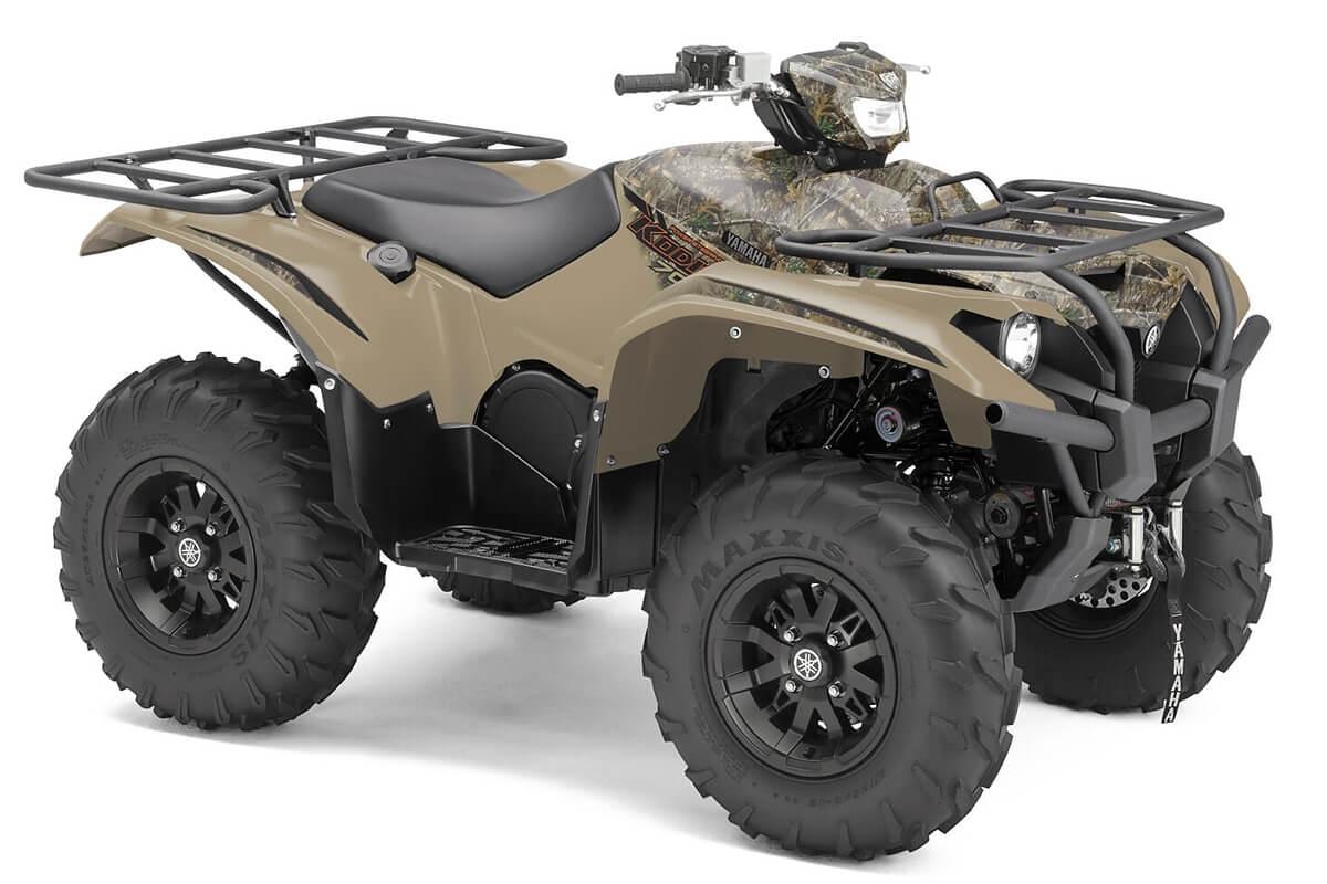 Kodiak 700 EPS Alu Räder ein ATV in Camouflage von Yamaha - Modelljahr 2020 - B5KS00020P