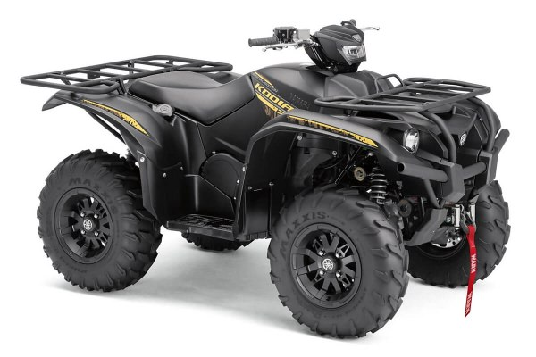 Kodiak 700 EPS Special Edition ein ATV in Satin Black von Yamaha - Modelljahr 2020 - B5KV00020G