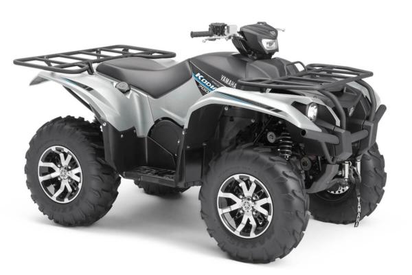 Kodiak 700 EPS Special Edition ein ATV in Silver Metallic von Yamaha - Modelljahr 2020 - B5KV00020T