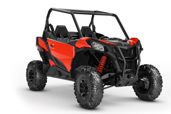 Maverick 1000R Sport DPS ein SSV in Can-Am Red von Can-Am - Modelljahr 2020 - 0009GLF00