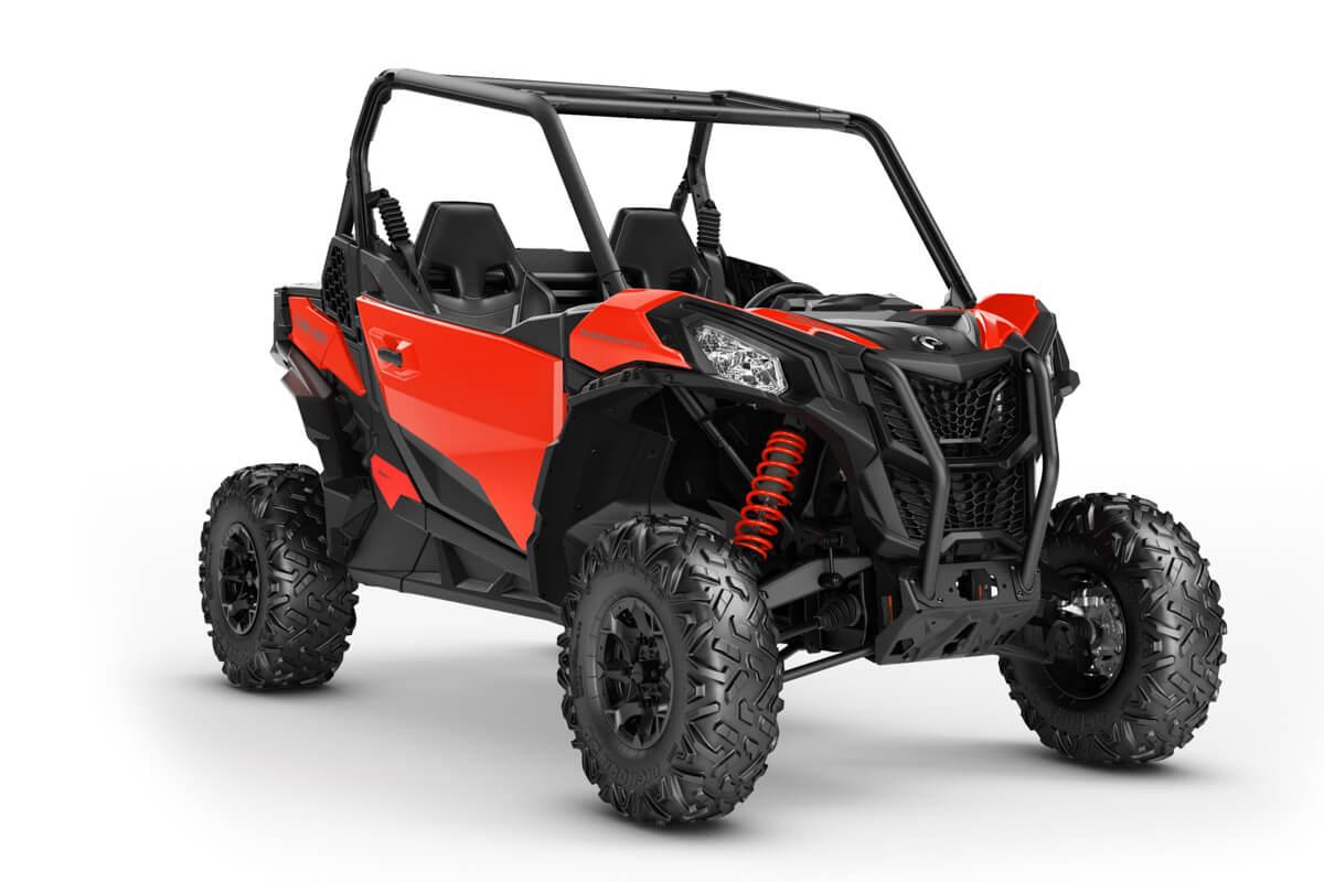 Maverick 1000R Sport DPS T ein SSV in Can-Am Red von Can-Am - Modelljahr 2020 - 0009GLH00