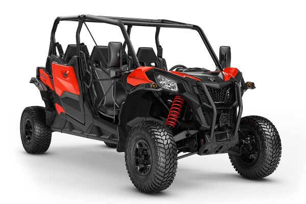 Maverick 1000R Sport Max DPS T ein SSV in Can-Am Red von Can-Am - Modelljahr 2020 - 0009JLA00