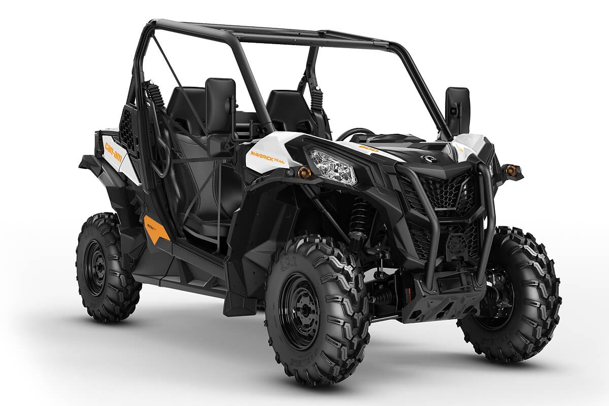 Maverick 800 Trail T ein SSV in White von Can-Am - Modelljahr 2020 - 0007RLD00