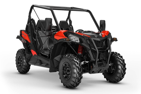 Maverick 1000 Trail DPS T ein SSV in Can-Am Red von Can-Am - Modelljahr 2020 - 0007FLB00