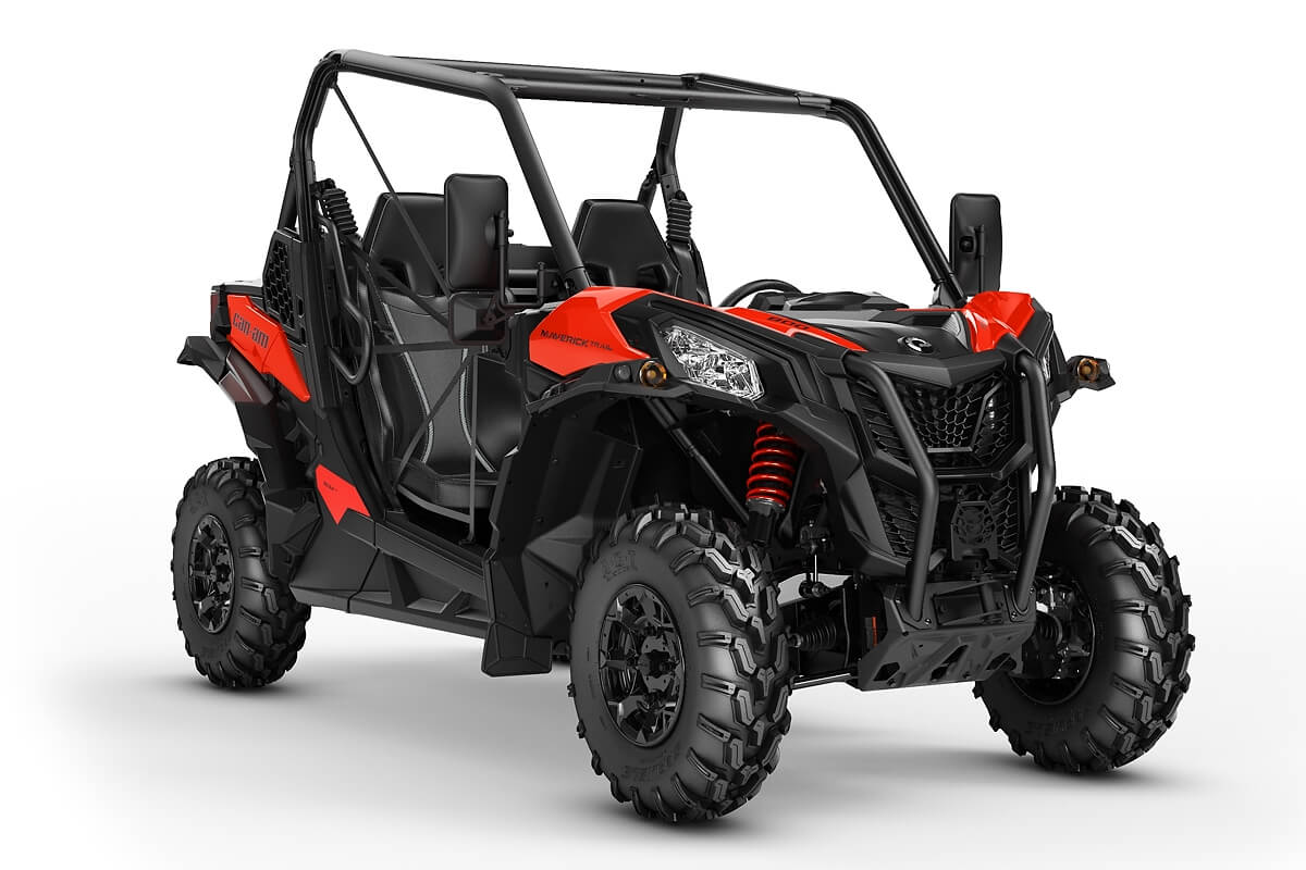Maverick 800 Trail DPS T ein SSV in Can-Am Red von Can-Am - Modelljahr 2020 - 0007HLF00