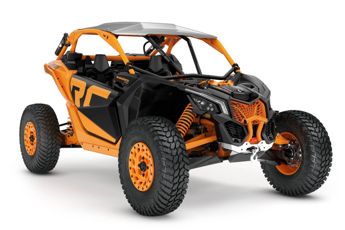 Maverick X rc Turbo RR ein SSV in Orange Crush von Can-Am - Modelljahr 2020 - 0009MLD00