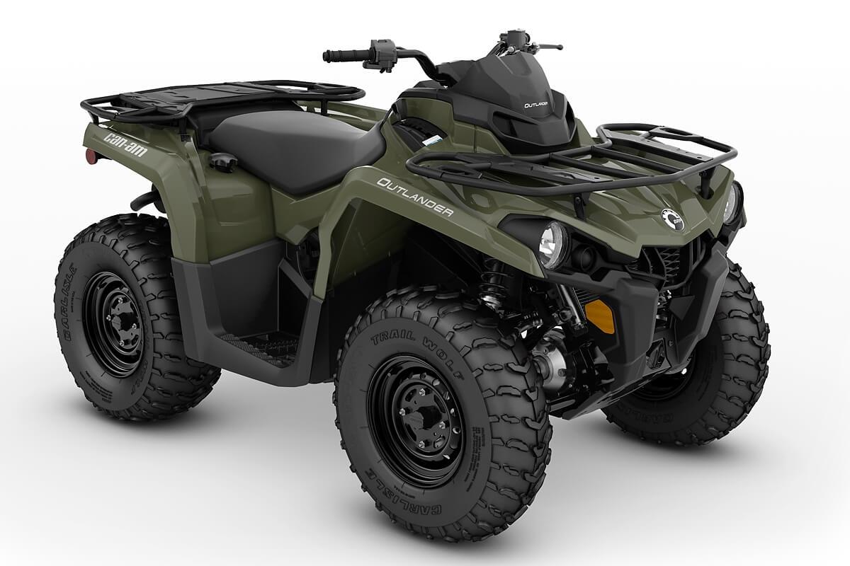 Outlander 450 ein ATV in Green von Can-Am - Modelljahr 2020 - 0005ALB00