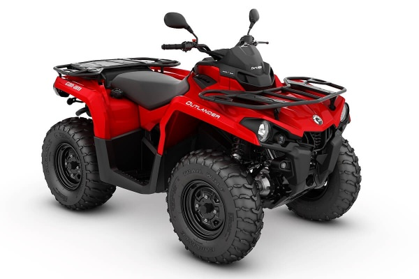 Outlander 450 T ein ATV in Viper Red von Can-Am - Modelljahr 2020 - 0005ALC00
