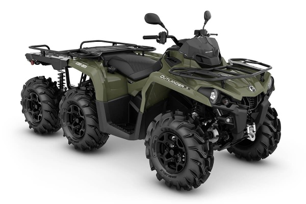 Outlander 450 6x6 Flat Bed T ein ATV in Green von Can-Am - Modelljahr 2020 - 0004XLA00