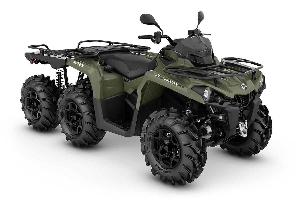 Outlander 450 6x6 PRO+ Flat Bed T ein ATV in Green von Can-Am - Modelljahr 2020 - 0002MLB00