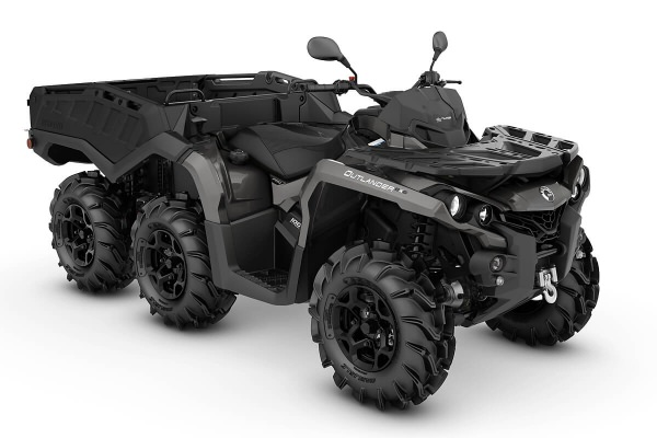 Outlander 1000 6x6 PRO+ Side Wall T ein ATV in Pure Magnesium Metallic von Can-Am - Modelljahr 2020 - 0004HLA00