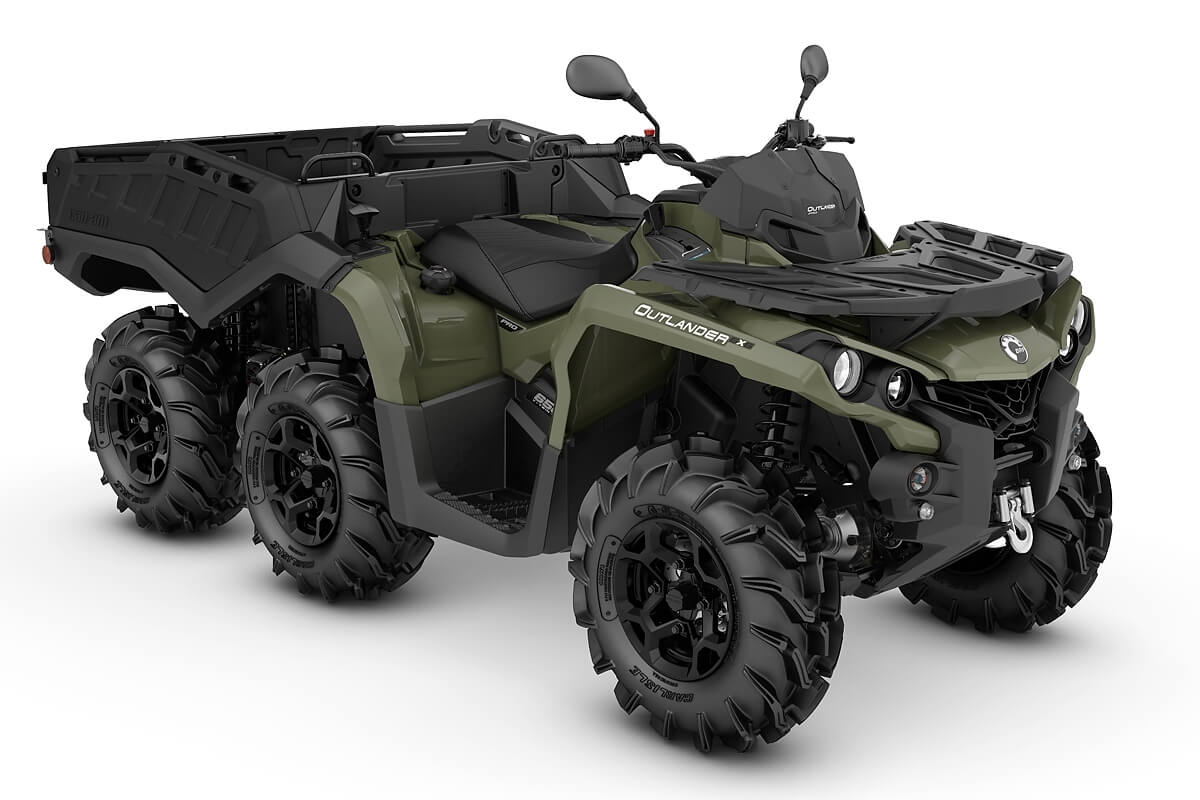 Outlander 650 6x6 PRO+ Side Wall T ein ATV in Green von Can-Am - Modelljahr 2020 - 0002KLB00