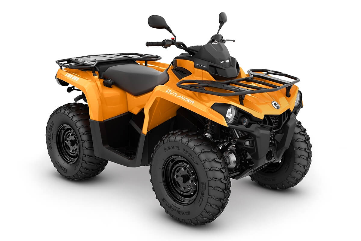 Outlander 450 DPS T ein ATV in Orange von Can-Am - Modelljahr 2020 - 0002WLG00