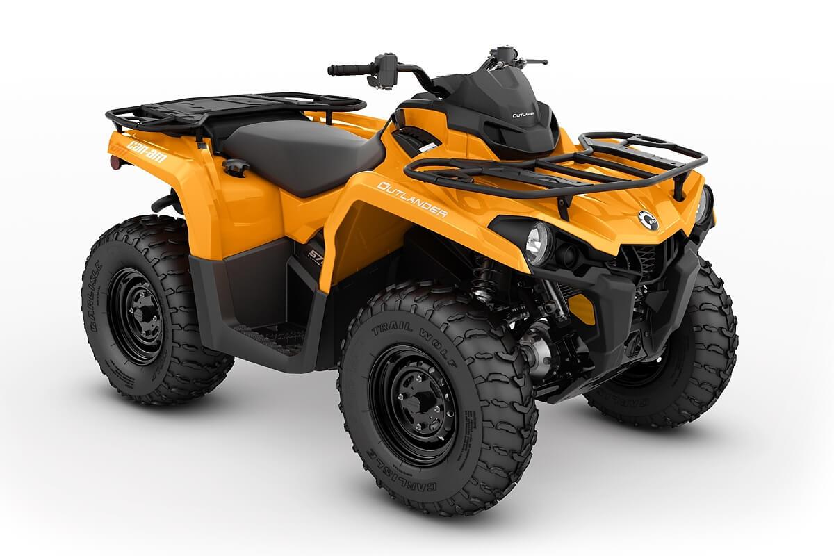 Outlander 570 DPS ein ATV in Orange von Can-Am - Modelljahr 2020 - 0004ALB00