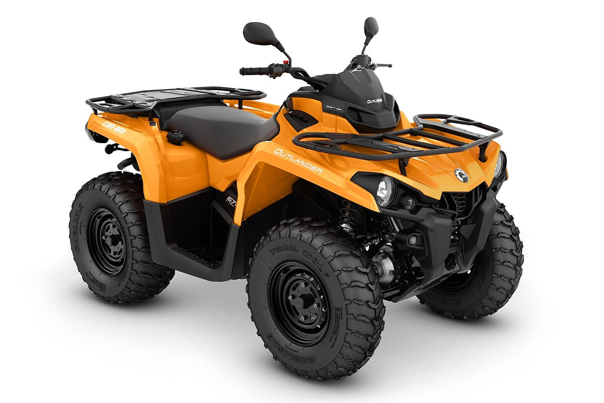 Outlander 570 DPS T ein ATV in Orange von Can-Am - Modelljahr 2020 - 0004ALC00