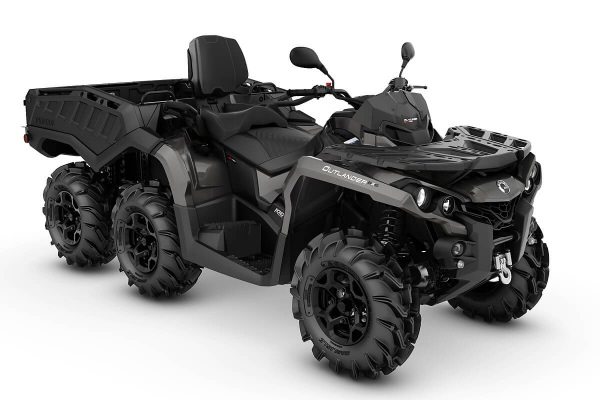 Outlander 1000 Max 6x6 PRO+ Side Wall T ein ATV in Pure Magnesium Metallic von Can-Am - Modelljahr 2020 - 0004LLA00