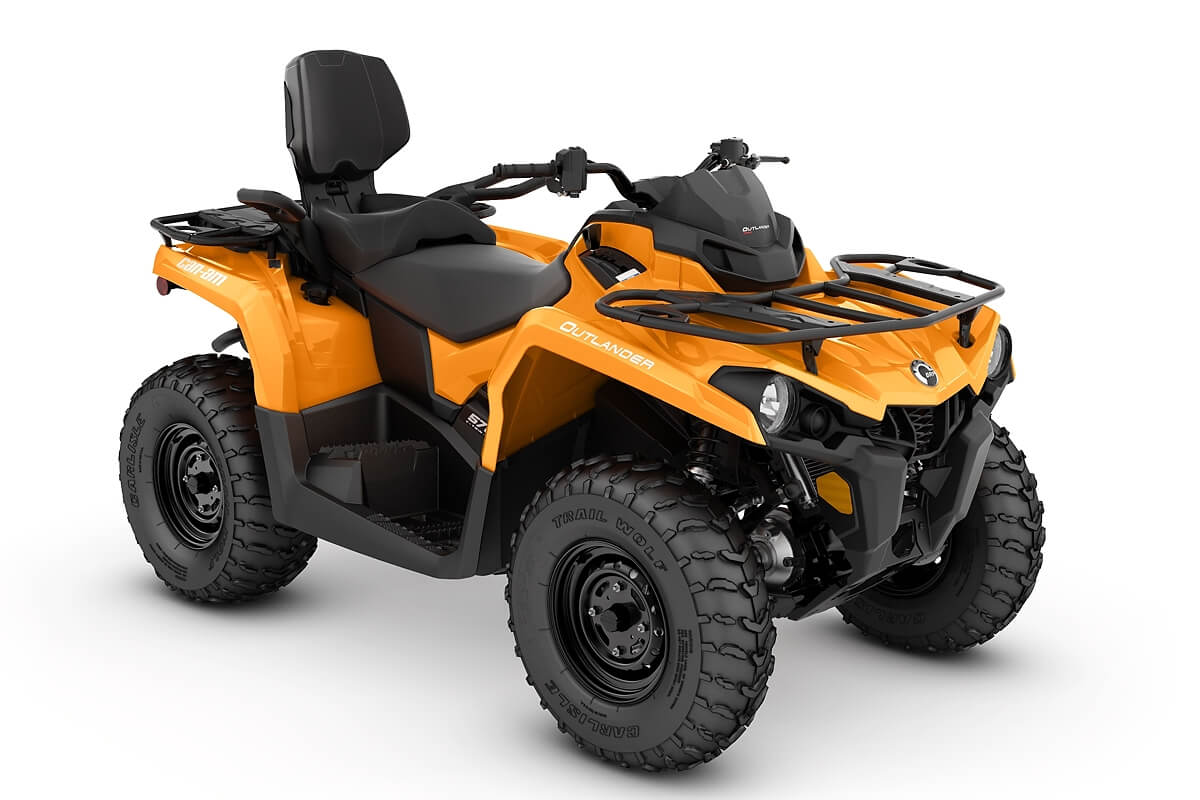 Outlander 570 Max DPS ein ATV in Orange von Can-Am - Modelljahr 2020 - 0005NLB00